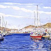 San Jose Marina Art Print