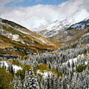 San Juan Mountains After Recent Snowstorm Art Print