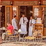 San Miguel - Waiting For Customers Art Print