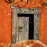San Miguel Allende Door Art Print