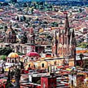 San Miguel De Allende Art Print