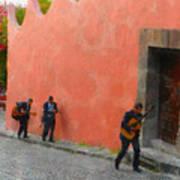 San Miguel De Allende Mexico Streets Art Print