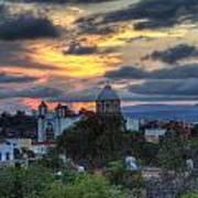 San Miguel De Allende Sunset Art Print