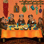 San Pascuals Table Art Print