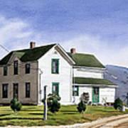 San Pasquale House Art Print