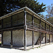 Sanchez Adobe Pacifica California 5d22642 Art Print by Wingsdomain Art and Photography