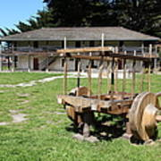 Sanchez Adobe Pacifica California 5d22653 Art Print by Wingsdomain Art and Photography