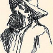 Sancho Art Print