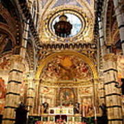 Sanctuary Duomo Siena Art Print