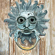 Sanctuary Knocker Art Print