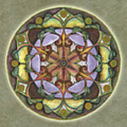 Sanctuary Mandala Art Print
