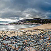 Sand Beach At Acadia Art Print