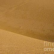 Sand Curves Art Print