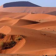 Sand Dune Sculpture  Art Print