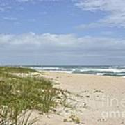 Sand Dunes And The Sea Art Print