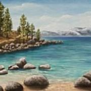 Sand Harbor Lake Tahoe Art Print