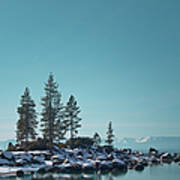 Sand Harbor-lake Tahoe Art Print