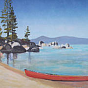 Sand Harbor - Lake Tahoe Art Print