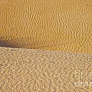 Sand Layers Art Print