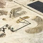 Sand Mine, South Africa Art Print