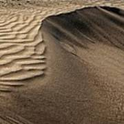 Sand Pattern Abstract - 2 Art Print