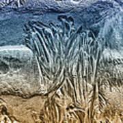 Sand Patterns Art Print