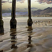 Sand Ripples Art Print