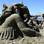 Sand Sculpture 1 Art Print