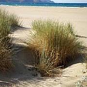Sand Sea Mountains - Crete Art Print