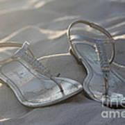 Sandals 4 Art Print