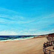 Sandbridge Virginia Beach Art Print