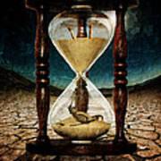 Sands Of Time ... Memento Mori  Art Print