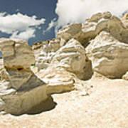 Sandstone And Sky Art Print