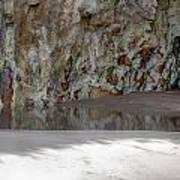 Sandstone Cave V2 Art Print