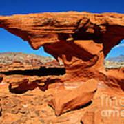 Sandstone Landscape Art Print