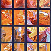 Sandstone Sunsongs Golden Oldies Photo Assemblage Art Print