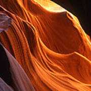 Sandstone Walls Antelope Canyon Arizona Art Print
