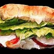Sandwich Time Art Print