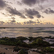 Sandy Beach Sunrise 10 - Oahu Hawaii Art Print