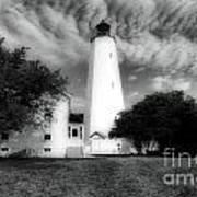 Sandy Hook Lighthouse Art Print