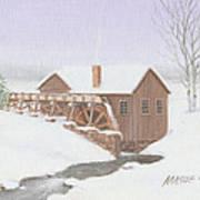 Sandy Spring Grist Mill Art Print
