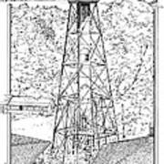 Sanibel Island Light Art Print