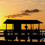 Sanibel Island Sunset Art Print