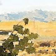 Santa Ana View Art Print