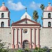 Santa Barbara Mission Art Print