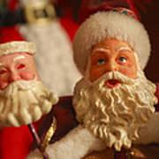 Santa Claus - Antique Ornament - 12 Art Print