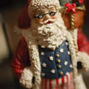 Santa Claus - Antique Ornament - 15 Art Print