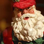 Santa Claus - Antique Ornament - 16 Art Print