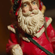 Santa Claus - Antique Ornament - 21 Art Print