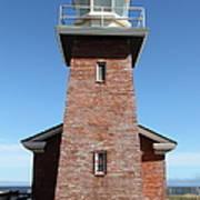 Santa Cruz Lighthouse Surfing Museum California 5d23944 Art Print by Wingsdomain Art and Photography